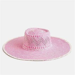 J Crew Woven hat with extra-wide brim NWT S M